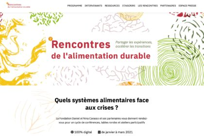 3e Rencontres de l'Alimentation Durable